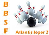 Atlantis Ieper 2 wint met 21-10 (2772-2638) van BAK De Ronny's uit Zomergem.